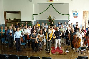 Orchesterwerkstatt in Marth