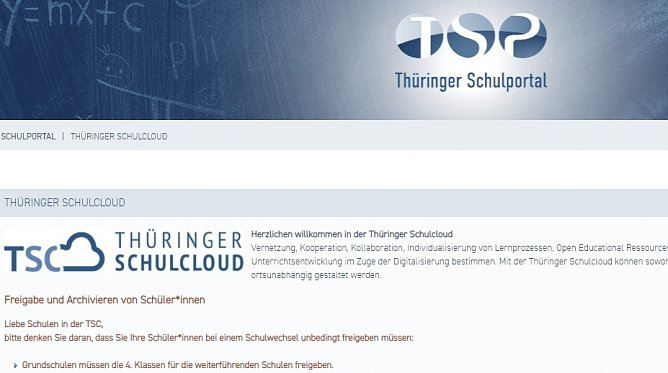 Schulcloud (Screenshot) (Foto: nnz)